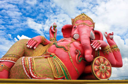 Lord Ganesh is sleeping posture. Stock Photo - 10533523