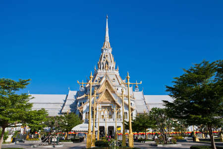 Sothorn Wararam Woraviharn Temple,thailand Stock Photo - 11516717