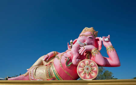 Lord Ganesh is sleeping posture. Stock Photo - 11516712