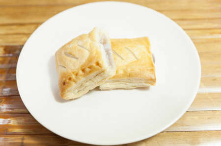 Taro&Coconut Custard Pie photo