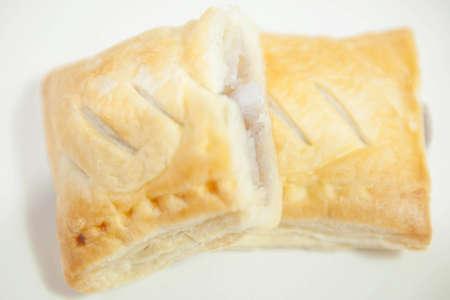 Taro&Coconut Custard Pie Stock Photo - 13677047