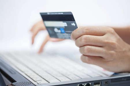 L'utilisation d'un achat par carte de cr�dit en ligne