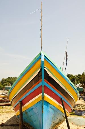 boat wood Thai