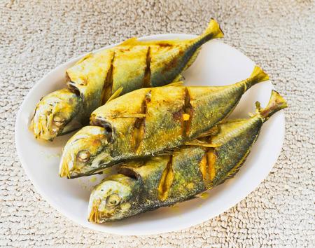Fried fish in Thai restaurant