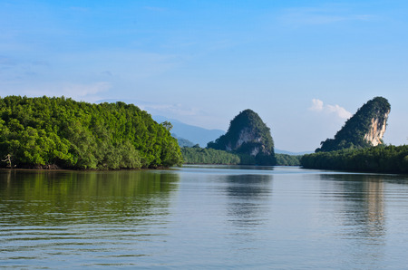 It is the longest river in krabi in thailand