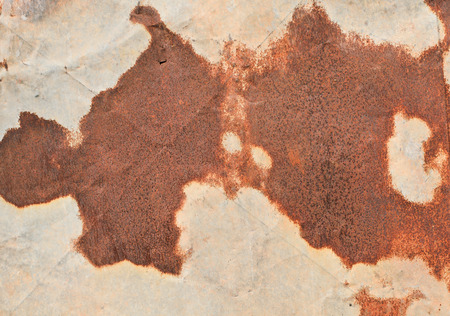 corrugated steel: old metal iron rust background and texture