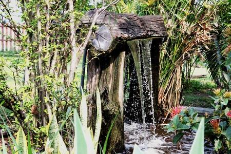 Waterfall model Stock Photo