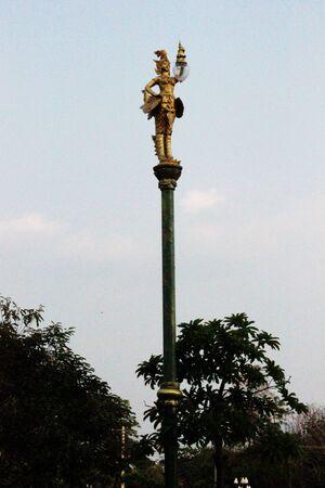Angel holding a lantern