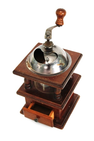 Coffee grinder by hand