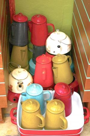 Ancient kettle Stock fotó