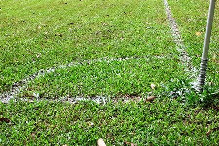 Corner of the football field