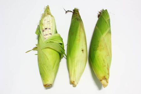 Corn for cooking Stock Photo