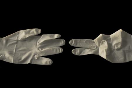 Health gloves  photo