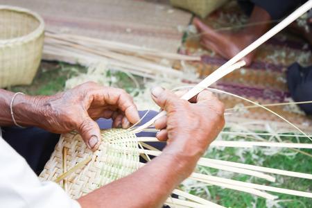 Basket weaving Stok Fotoğraf - 23941163