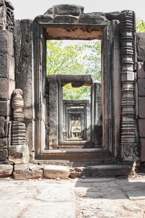 Castle Rock Phimai Stock Photo