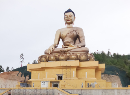 Buddha in Bhutan photo