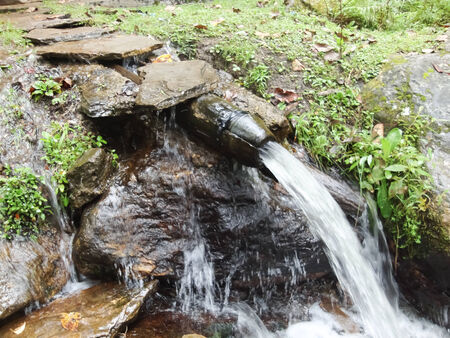 source: Water from the mountain