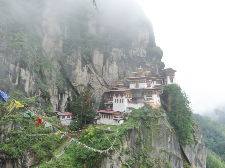 Temple in Bhutan photo