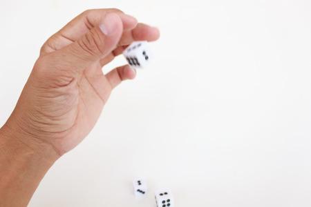Toss the dice photo