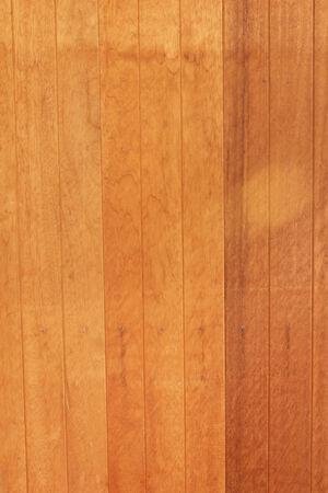 made: Walls made of wood