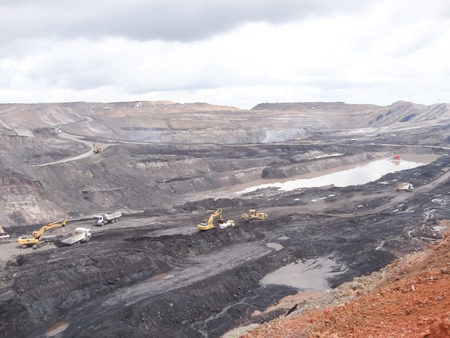 Mining industry Banque d'images