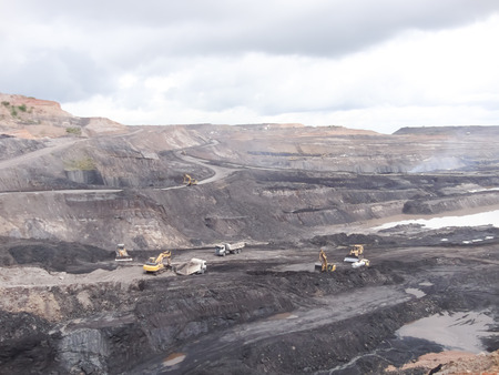 Mining industry Archivio Fotografico