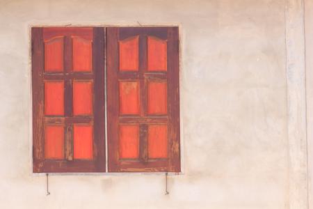 made: Windows made of wood