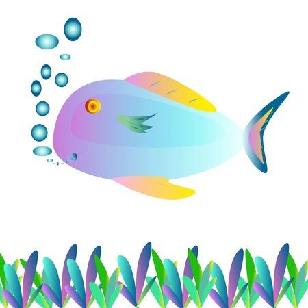 Fish painting photo