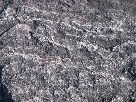 corrosion: Patterns of rock caused by corrosion.