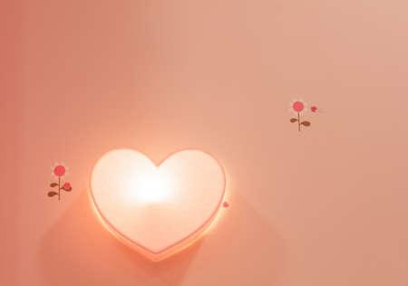 shaped: Heart Shaped Lamp