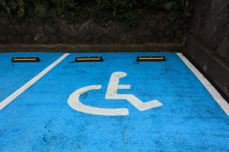 Parking for the disabled photo