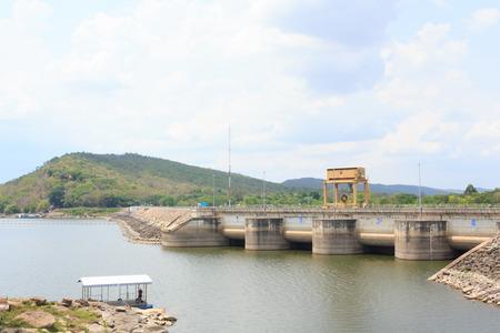 dams: Dams for water storage Stock Photo