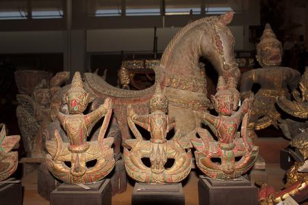 garuda: Garuda ancient statues