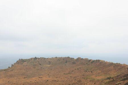 Crater on Jeju Island South Korea