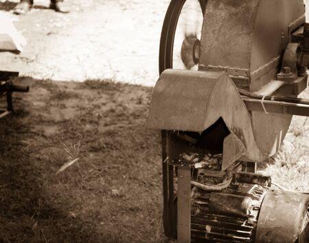 Machines for cutting grass Stok Fotoğraf