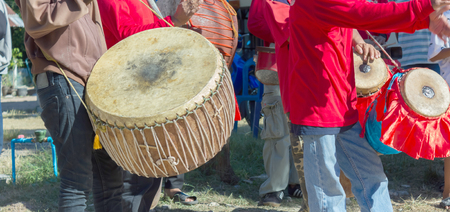 Drummer at the festival