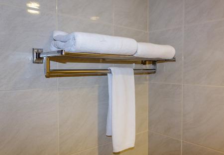 bathroom: Towels in bathroom