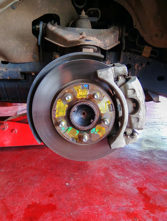 brake: automotive brake Stock Photo