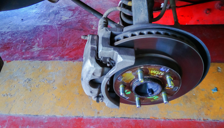 automotive brake Stock Photo