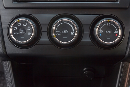 switch controls the cooling in the car