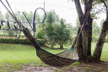 Bamboo hammock for relaxing