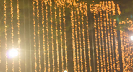 gold bokeh for background image