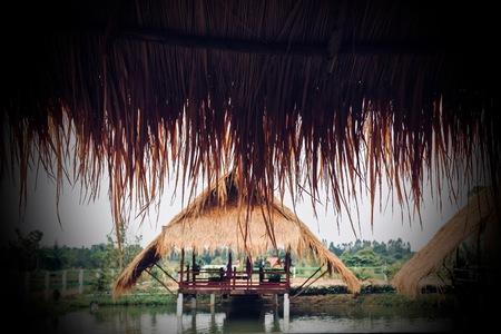 Thai style pavilion.