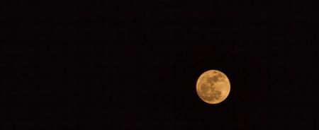 Beautiful full moon in the sky. Foto de archivo
