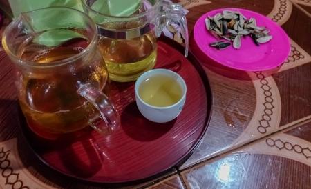 Tea in a glass Stok Fotoğraf