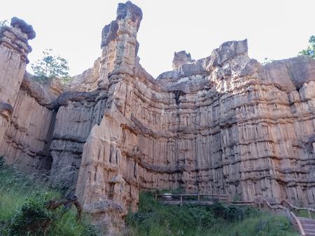 Beautiful rock cliffs Stok Fotoğraf - 119599870