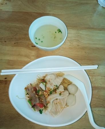 Noodles in a bowl Stok Fotoğraf