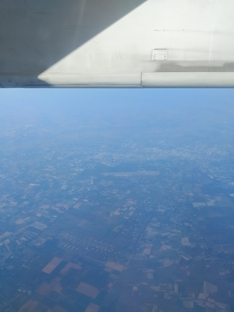 Photos from the plane