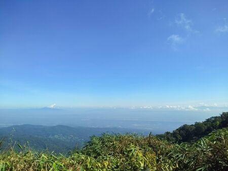 Beautiful scenery on the mountain