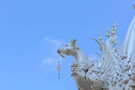 Animal sculptures in fiction in Thai temples